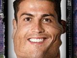 Смешное лицо Роналдо