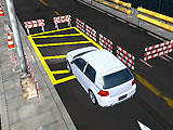 3D парковка на мосту