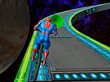 Супергерои на BMX: космическая езда