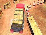 Парковка тяжелого грузовика 3D