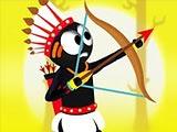 Стикмен воин-лучник