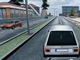 Симулятор автомобиля в городе