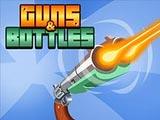 Пистолеты и бутылки