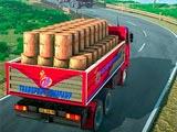 Водитель индийского грузовика