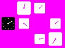 Часы стрелялка
