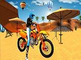 Мотогонка на пляже