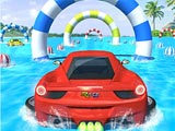 Гонка на водных автомобилях
