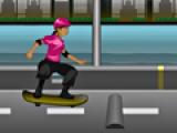 Прыжки на скейте