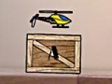 Вертолет на столе
