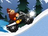 Ледяное приключение обезьяны