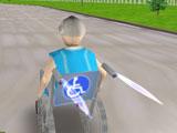 Гонки на инвалидных креслах