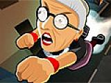 Сердитый бросок бабушки