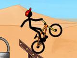 Стикмен на BMX
