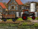 Четырехколесный трактор
