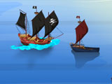 Пираты применяют силу