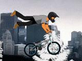 BMX зимой