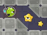 Бег пришельца в башне замка