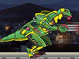 Ремонт дино робота - Тираннозавр