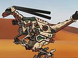 Ремонт дино робота - Галлимим
