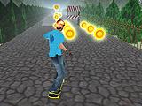 Удивительный скейтер 3D