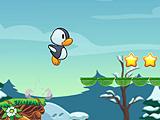 Бег супер пингвина 2D