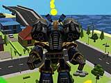 Герой робот: симулятор города 3D