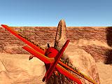 3D воздушный гонщик