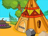 Побег Джина из племенного жилища 2