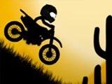 Стикмен на мотоцикле