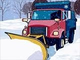 Скрытые снежинки и грузовики