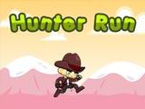 Охотник бежит