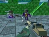 Безумный пиксельный бой
