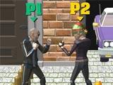 Двойной уличный бой