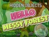 Поиск предметов в грязном лесу